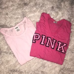 2 FOR $20!!!!🎄Pink VS Long sleeve tops