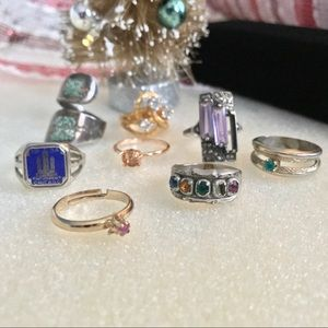 Vintage Rings Assortment of 8