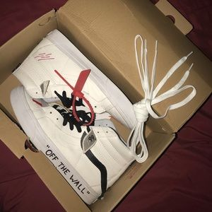 Vans SK8-Hi X Off White Customs