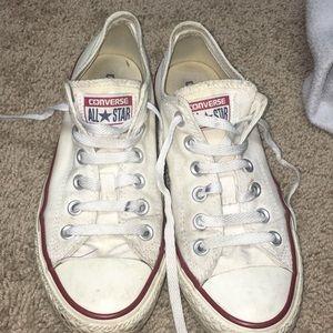 Low White Converse