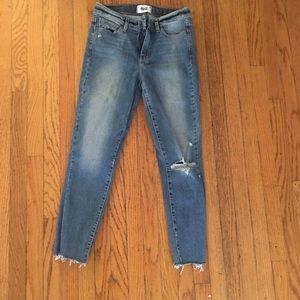 Paige Cropped Skinny Jeans - 25