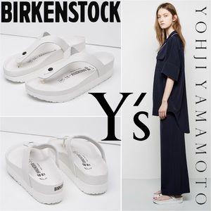 Yohji Yamamoto x Birkenstock Gizeh Leather Sandal