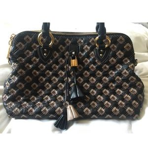 Marc Jacobs Collection Quilted Leather Bag