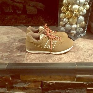 NEW TAN New Balance 574 Heritage Sport Sneaker