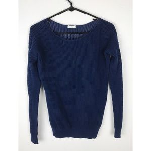 Madewell Wallace Blue Sweater