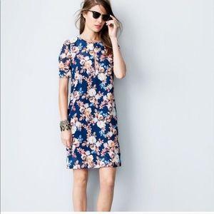 J.  C r e w // Antique Floral Dress