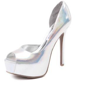 ⭐️Steve Madden Iridescent Madness Sexy Heels 7.5