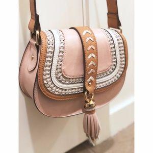ALDO pink tassel crossbody bag - NEW