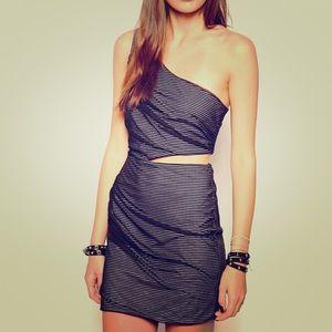 BCBGeneration reversible mini dress.