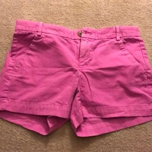 Hot pink size 0 GAP sunkissed shorts