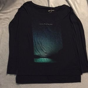 American Eagle Black Long Sleeve