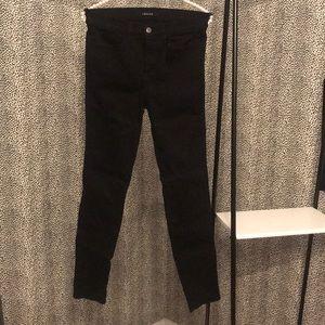 "J Brand ""Maria"" High Rise Black Skinny Jeans. sz27"