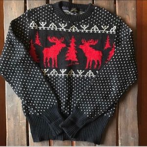 Vintage Holiday Sweater Knit