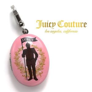 "Juicy Couture ""Choose Juicy"" Knight Locket Charm"