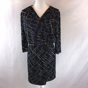 White House Black Market Long Sleeve Dress New