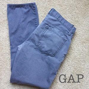 Gap 33x30 gray chinos