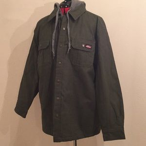 Dickies quilted hooded jacket