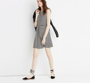 NWT Madewell Afternoon Dress in Stripe Size Medium
