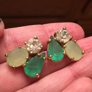 Green Kate Spade Earrings