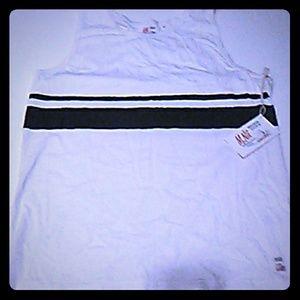 New Makaha Shorts Blue & White Tanktop