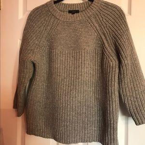Jcrew texture stitch sweater in size xs