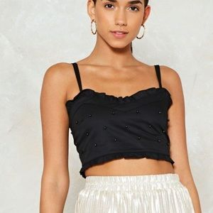 Nasty gal crop