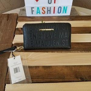 NWT black Steve Madden Wallet