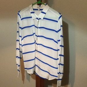 J. Crew Stripe Long Sleeve