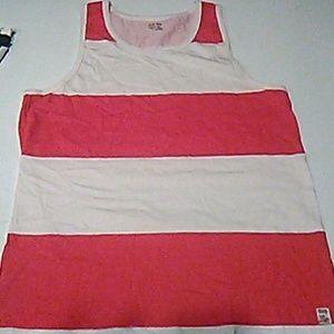 Makaha Shorts Red & White Tanktop