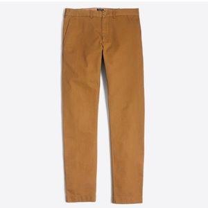 J.Crew Caramel Khaki The Driggs Chinos Pants 31x32