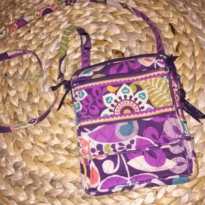 VERA BRADLEY crossbody purse satchel travel bag