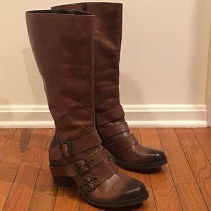 Matisse Moto style knee boots