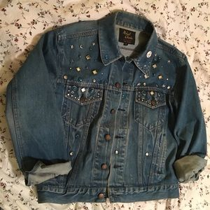 Celestial Vintage Denim Jacket