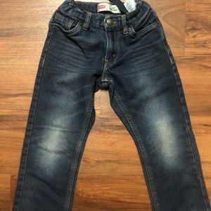 Size 5 Boys 511 Knit Jean Levis. Used, like new.