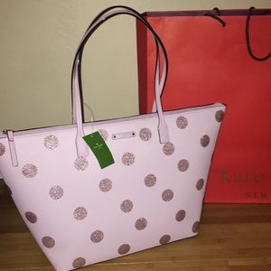 Authentic Kate Spade haven lane plum bag