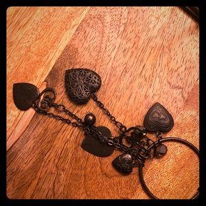 Multi heart locket necklace