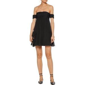 Rachel Zoe Melinda Off-the-shoulder Silk Dress