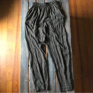 Vintage high waist casual pants