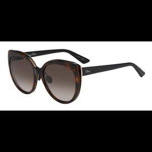 Brand new dior 3BZHA sunglasses in tortoise gold