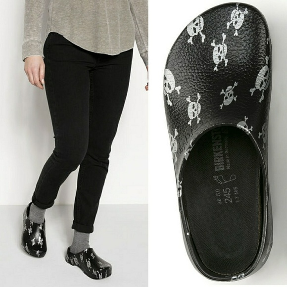 48fb454bd259 Birkenstock Shoes - BIRKENSTOCK Super-Birki Unisex Skull Clog
