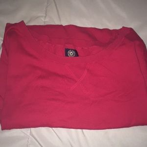 American Eagle Red Quarter Sleeve