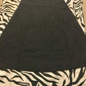 J Crew A line midi womens winter skirt