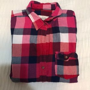 Abercrombie and Fitch Flannel Button Up Shirt