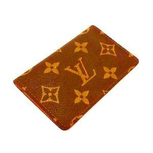 Authentic Vintage Vuitton Monogram Card Holder