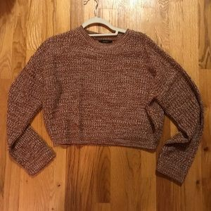 NWOT Forever 21 Cropped Sweater