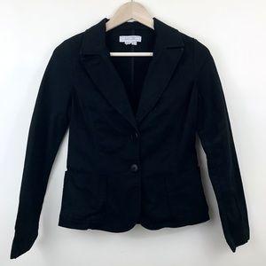 Zara TRF Black Blazer Medium Jacket