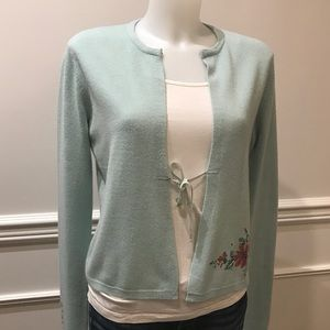 So sweet Free People soft Nylon sweater