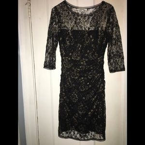 [Max & Cleo] Size M  Floral Lace Victoria Dress