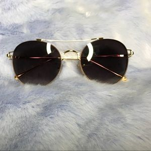 Accessories - Black sunglasses (Gold frames and black lens)