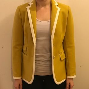 Spicy Gold J Crew Hacking Jacket Size 2